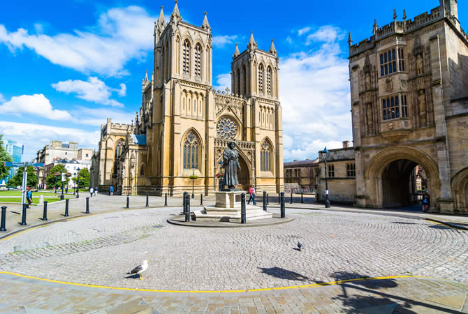bristol cathedral city