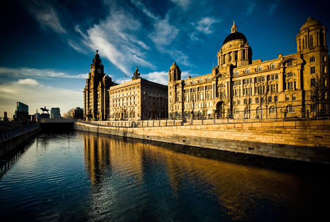 Three Graces of Liverpool