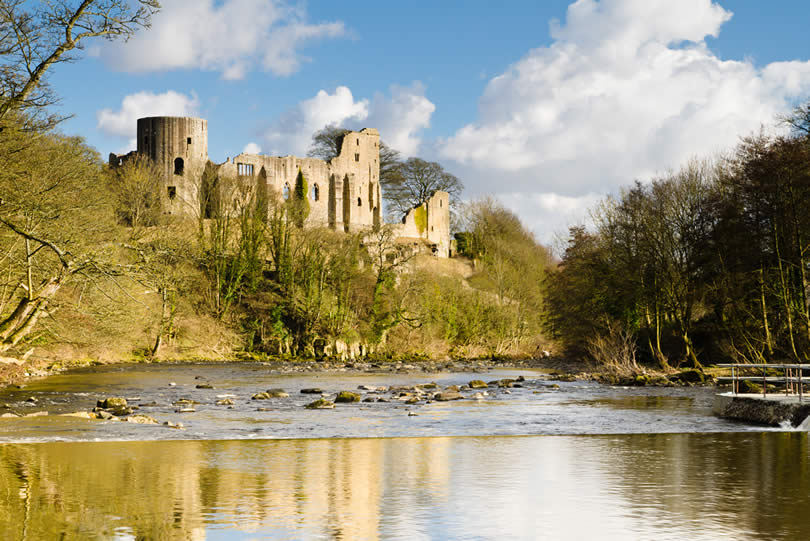 Barnard Castle in County Durham