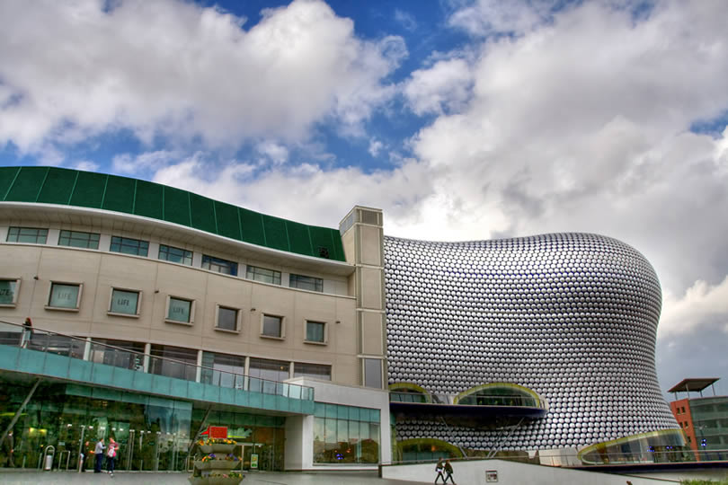Selfridges building at the Bullring shopping centre