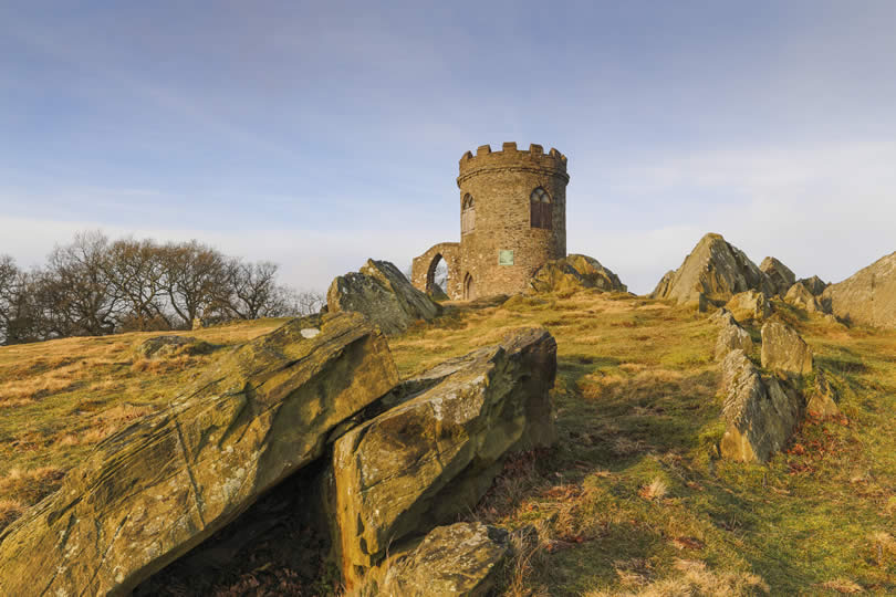 Old John at Bradgate Park Leicestershire England
