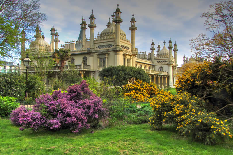 Royal Pavilion in Brighton England
