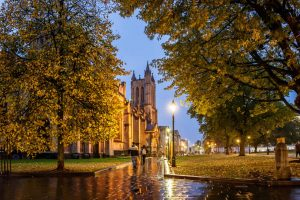Bristol Cathedral in England
