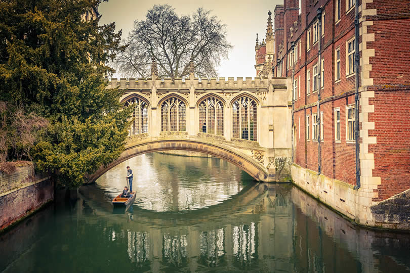 Bridge of Sigh at Saint John's College, Cambridge