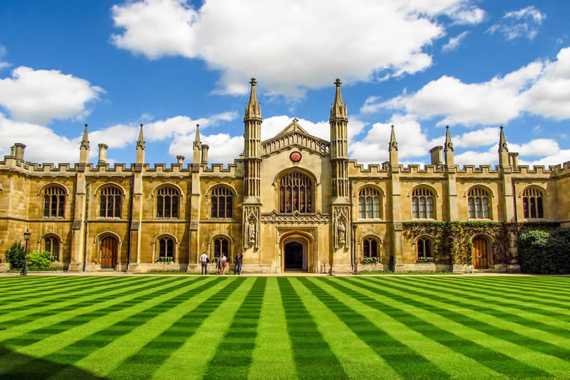 King's College in Cambridge UK
