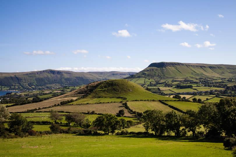 Cushendall in the Glens of Antrim Northern Ireland