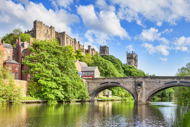 Durham Castle, Cathedral and Framwellgate Bridge