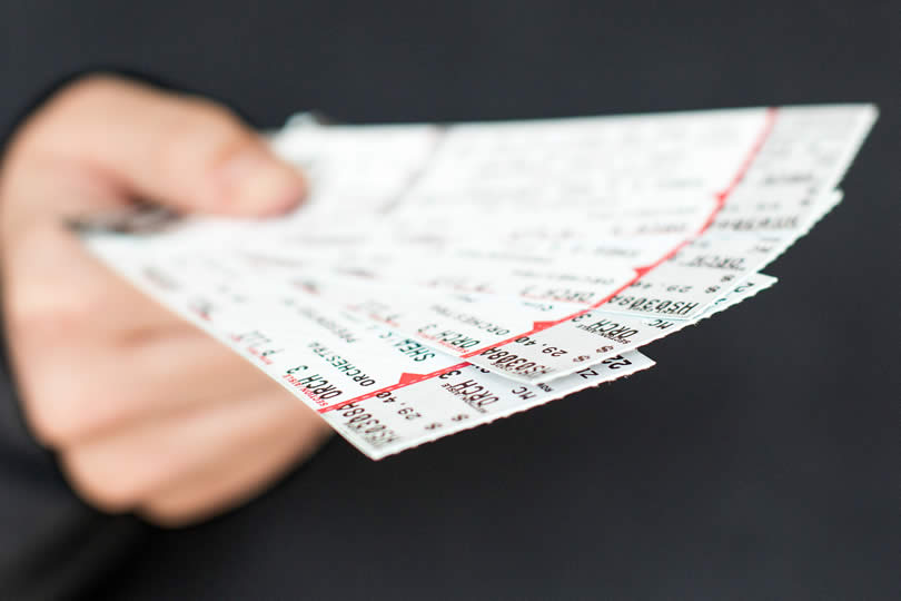 Attraction entrance tickets