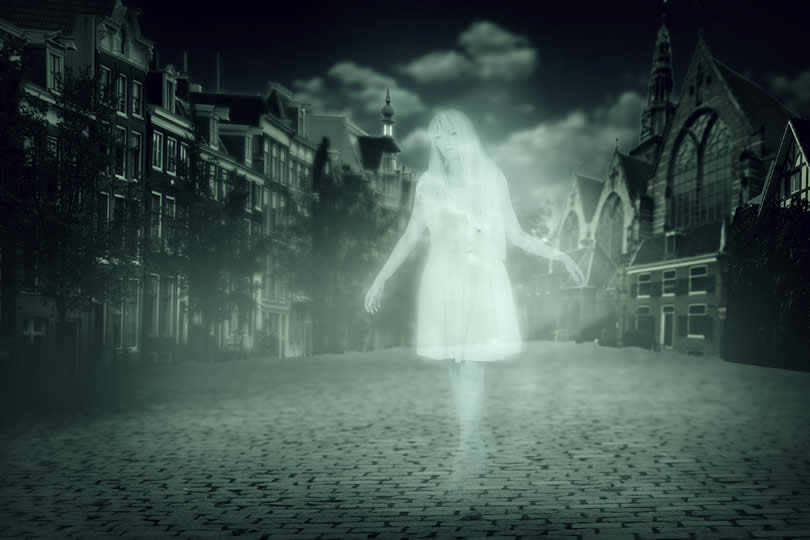 Ghost tour in UK