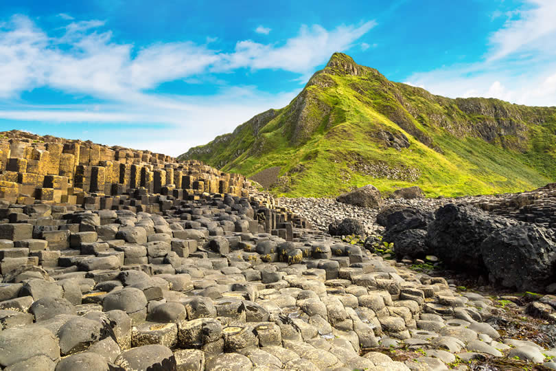Giant's Causeway in Summer
