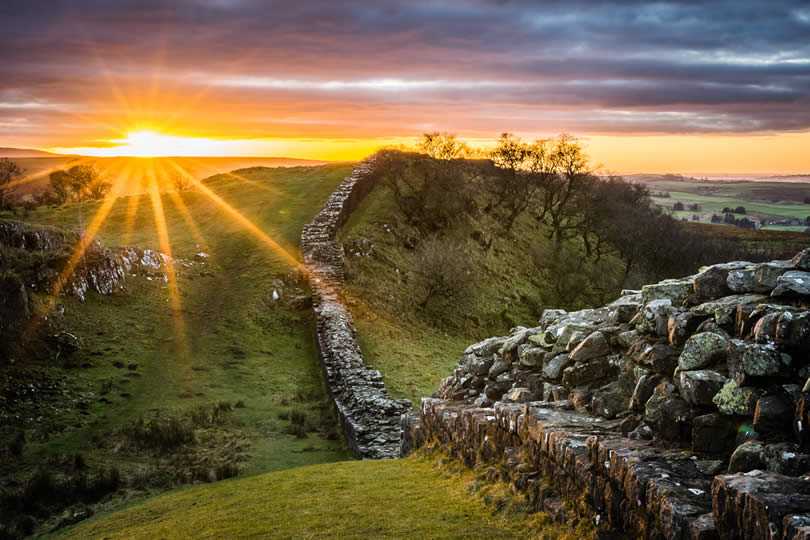 Hadrian's Wall Walltown Crags