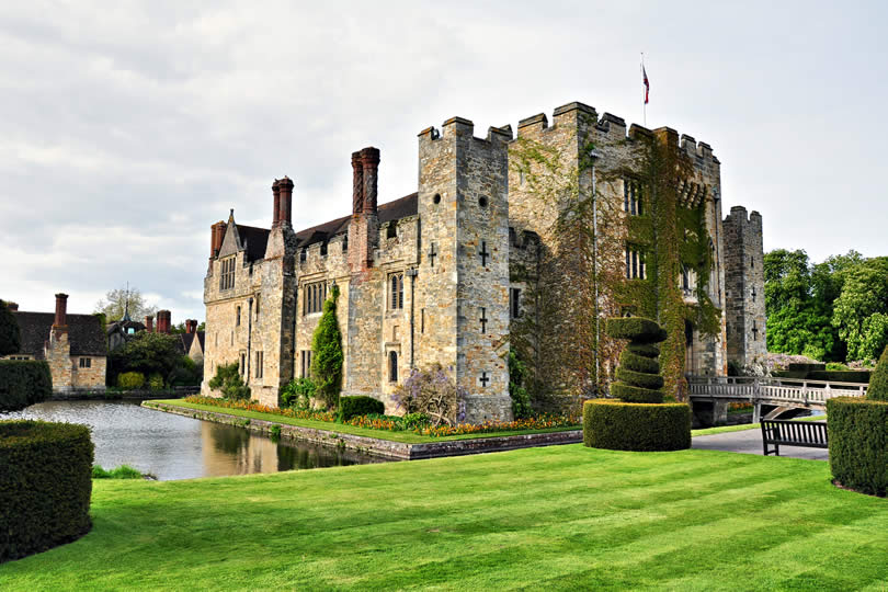 Hever Castle in Edenbridge England