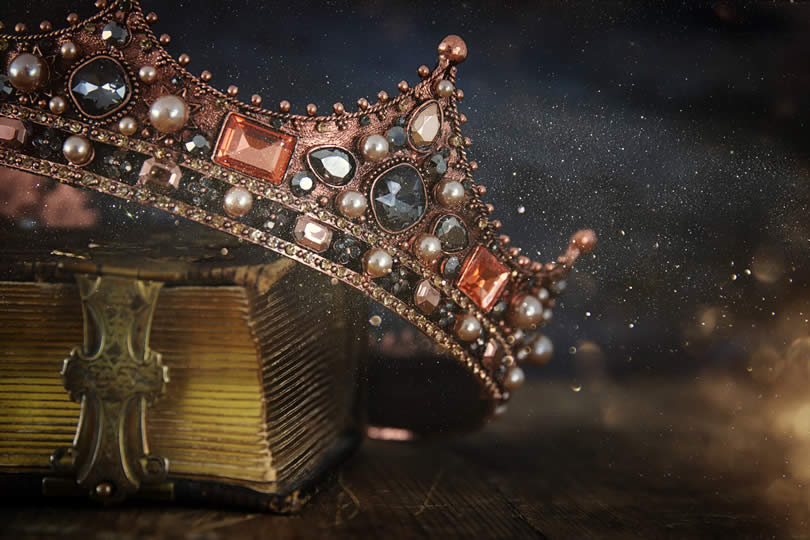 A king's crown