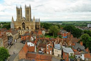 Lincoln Cathedral and city centre