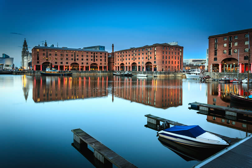 Liverpool Albert Dock area