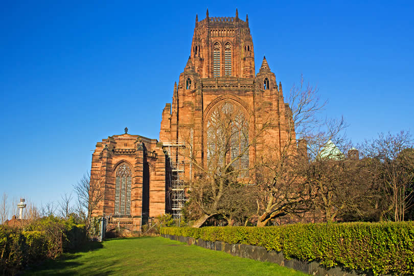 Liverpool England Cathedral