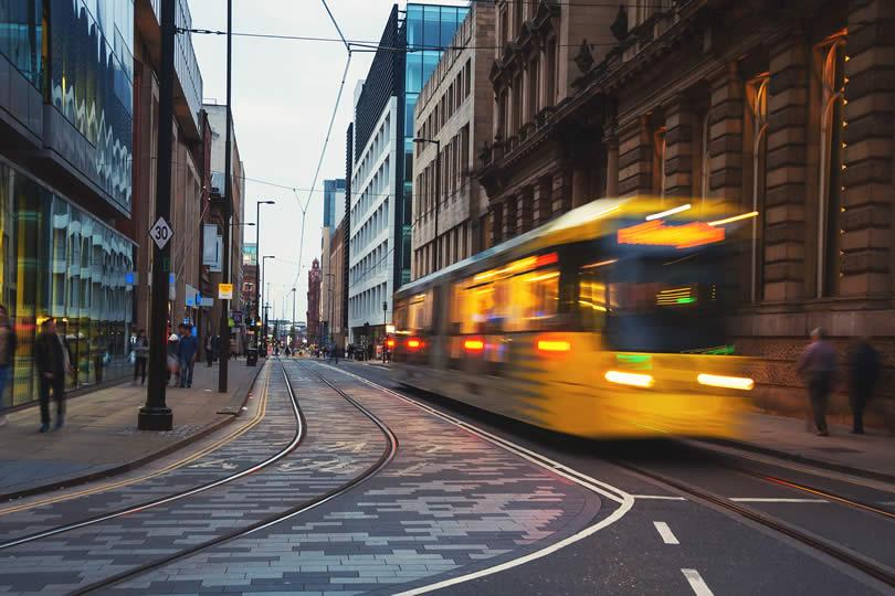 Manchester Transport Tram