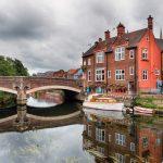 River Yare Bridge in Norwich city centre