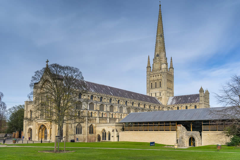 Norwich Cathedral in England