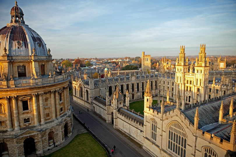 Radcliffe Camera and All Souls College Oxford University