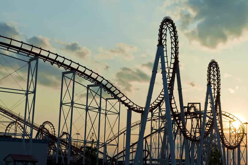 Loopings of rollercoaster Britain