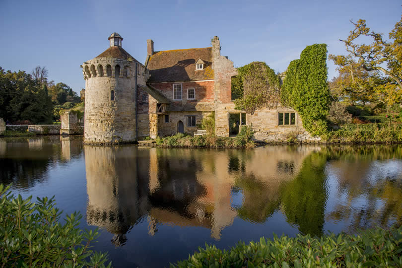 Scotney Castle Tunbridge Wells UK