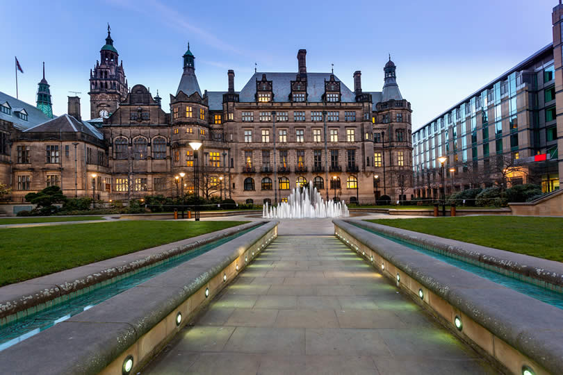 Sheffield UK Town Hall