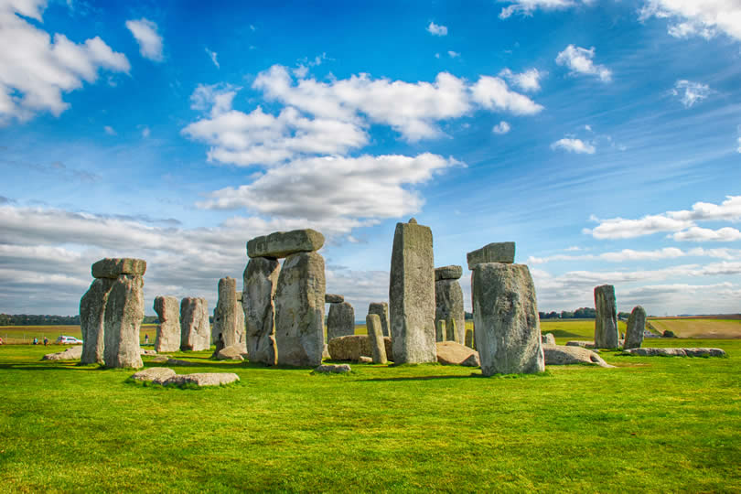 Stonehenge near Salisbury Wiltshire UK