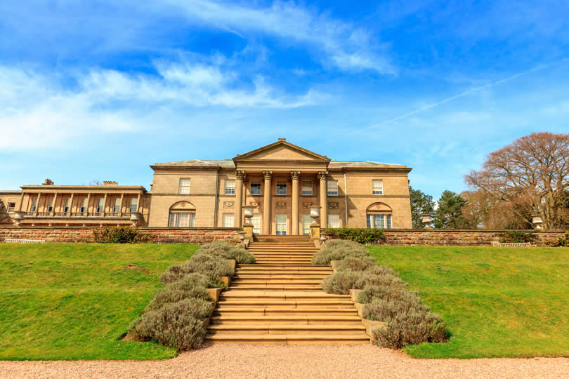 Historic English Stately Home Tatton Park