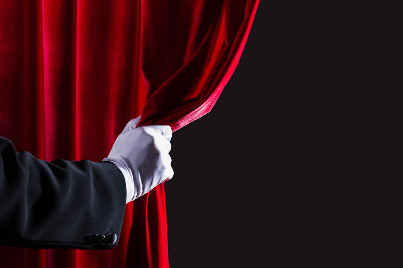 Theatre curtain UK