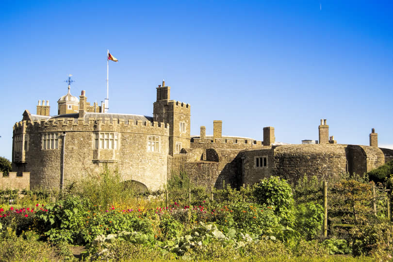 Walmer Castle in Kent UK