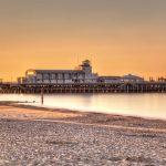 Sunrise Bournemouth Pier in England