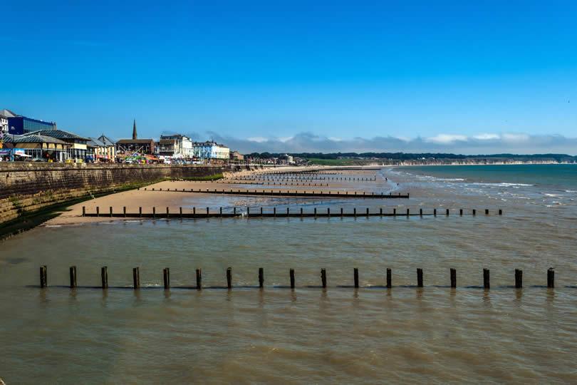 Seaside Resort of Bridlington in Yorkshire UK