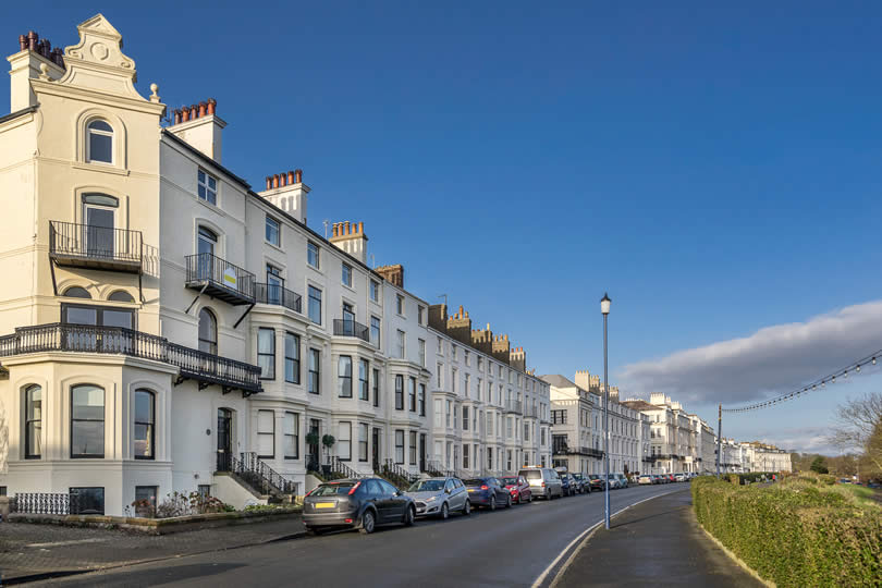 Town of Filey in Yorkshire UK