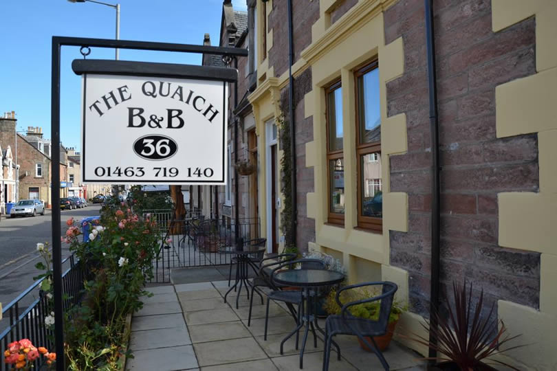 The Quaich B&B in Inverness Scotland