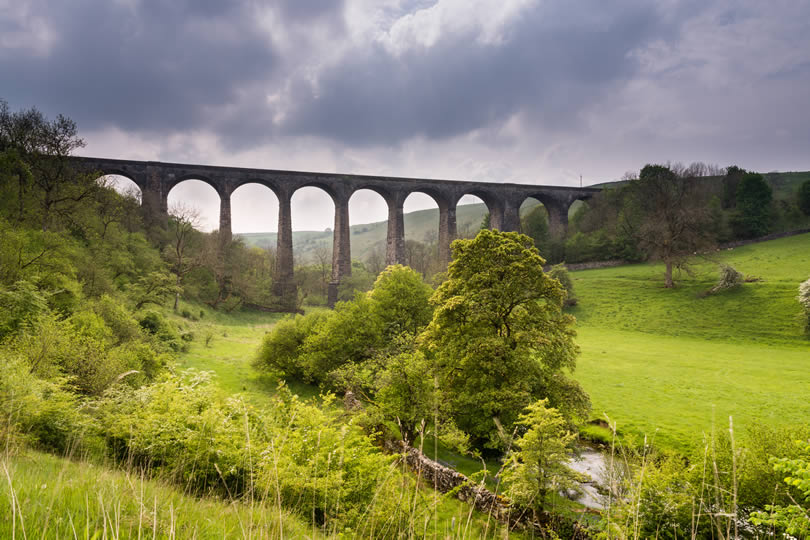 Smardale Viaduct in Cumbria UK