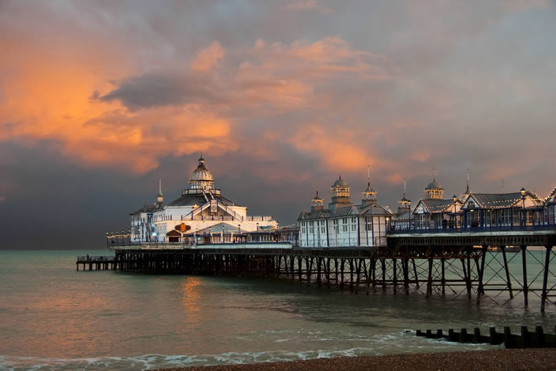 Eastbourne Pier in England