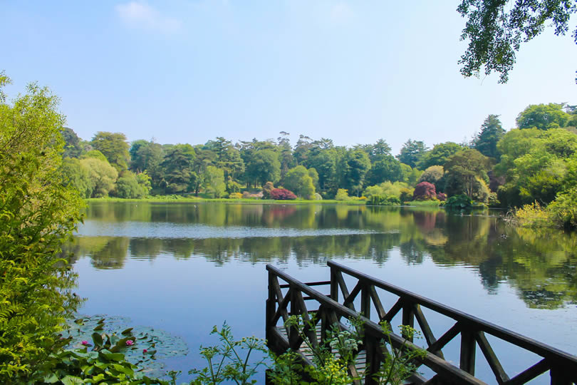 Lake at Mount Stewart Estate
