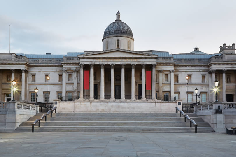 National gallery in London England