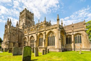 Parish Church of St Peter & St Paul in Northleach, known as The Cathedral of the Cotswolds