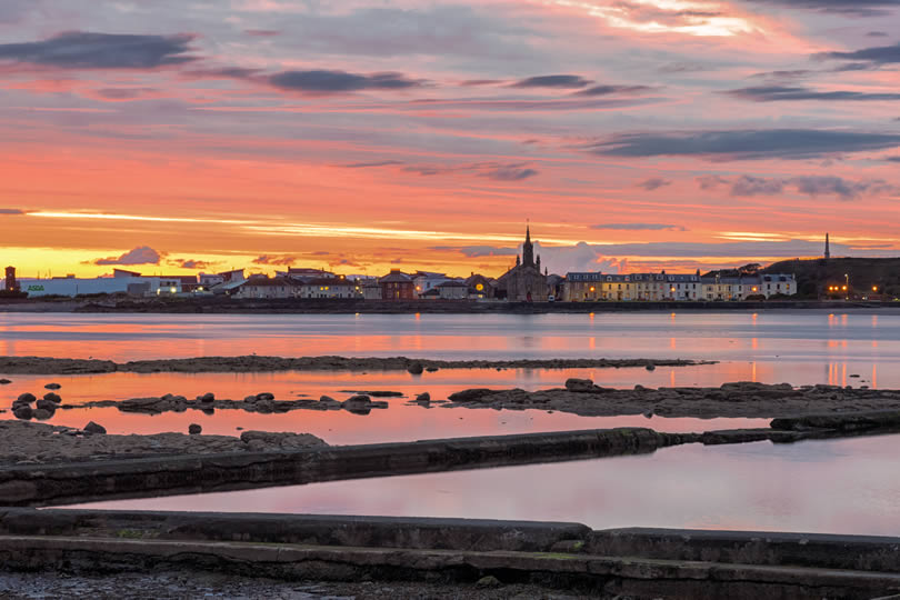 Bay of Ardrossan in the evening