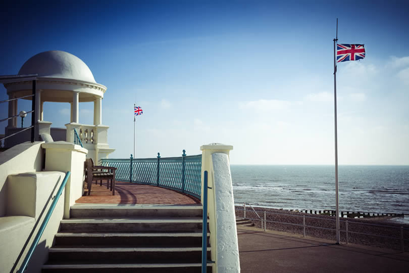 Bexhill-on-Sea promenade