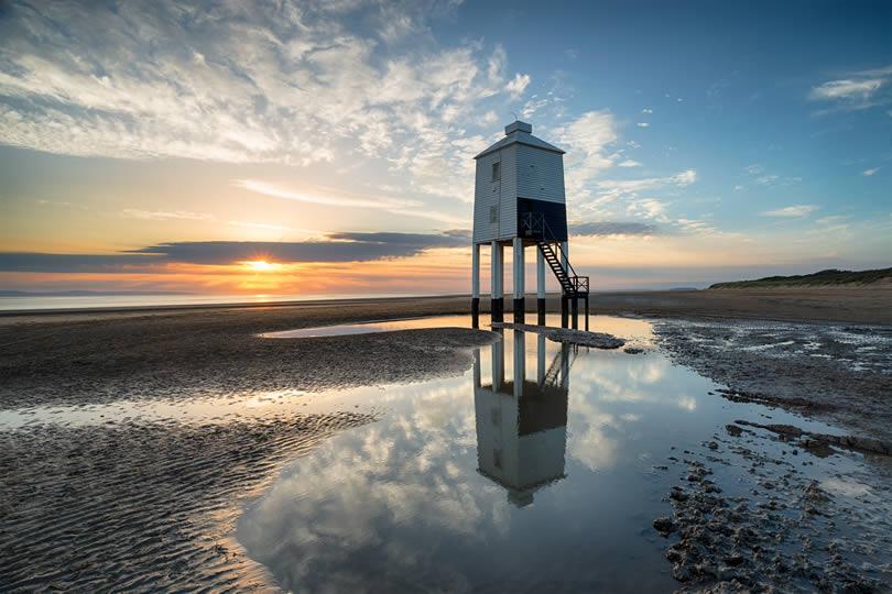 Burnham-on-Sea wooden lighthouse