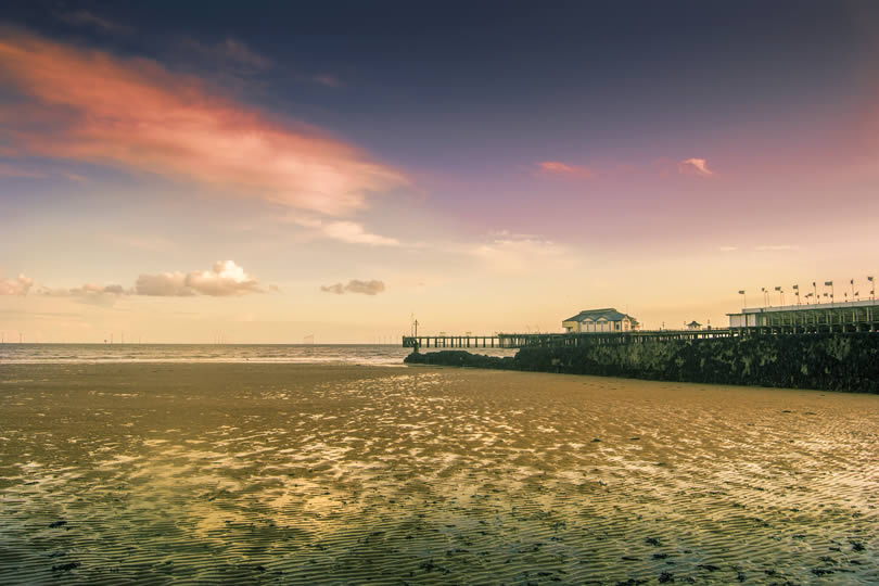 Clacton-on-Sea pier in Essex