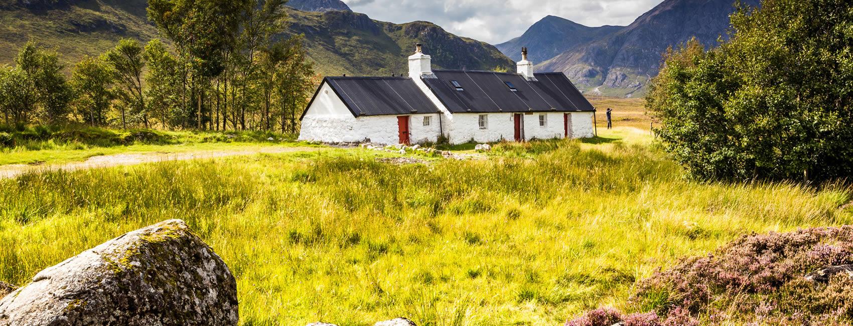 Cottage rental in Scotland