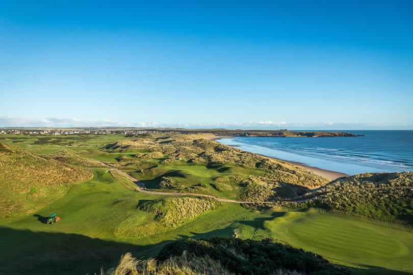 Cruden Bay coast and golf club
