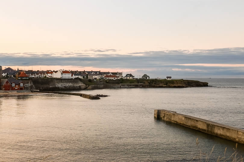 Cullercoats Tyne and Wear seaside town
