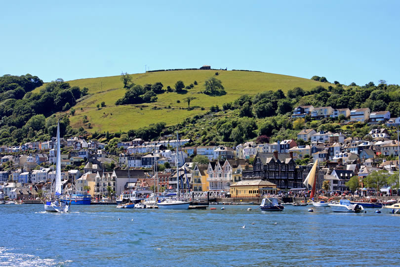 Dartmouth in Devon UK