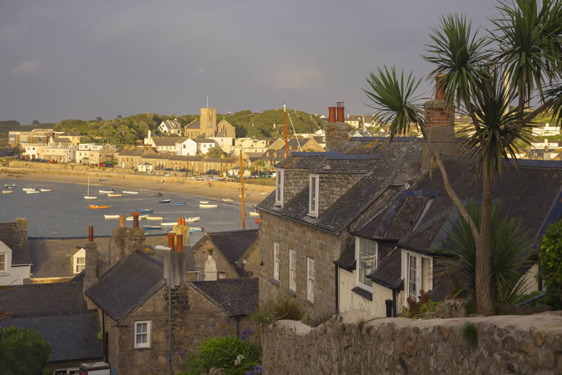 Hugh Town St Mary's on Isles of Scilly