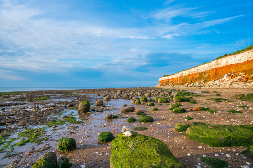 Hunstanton striped cliffs